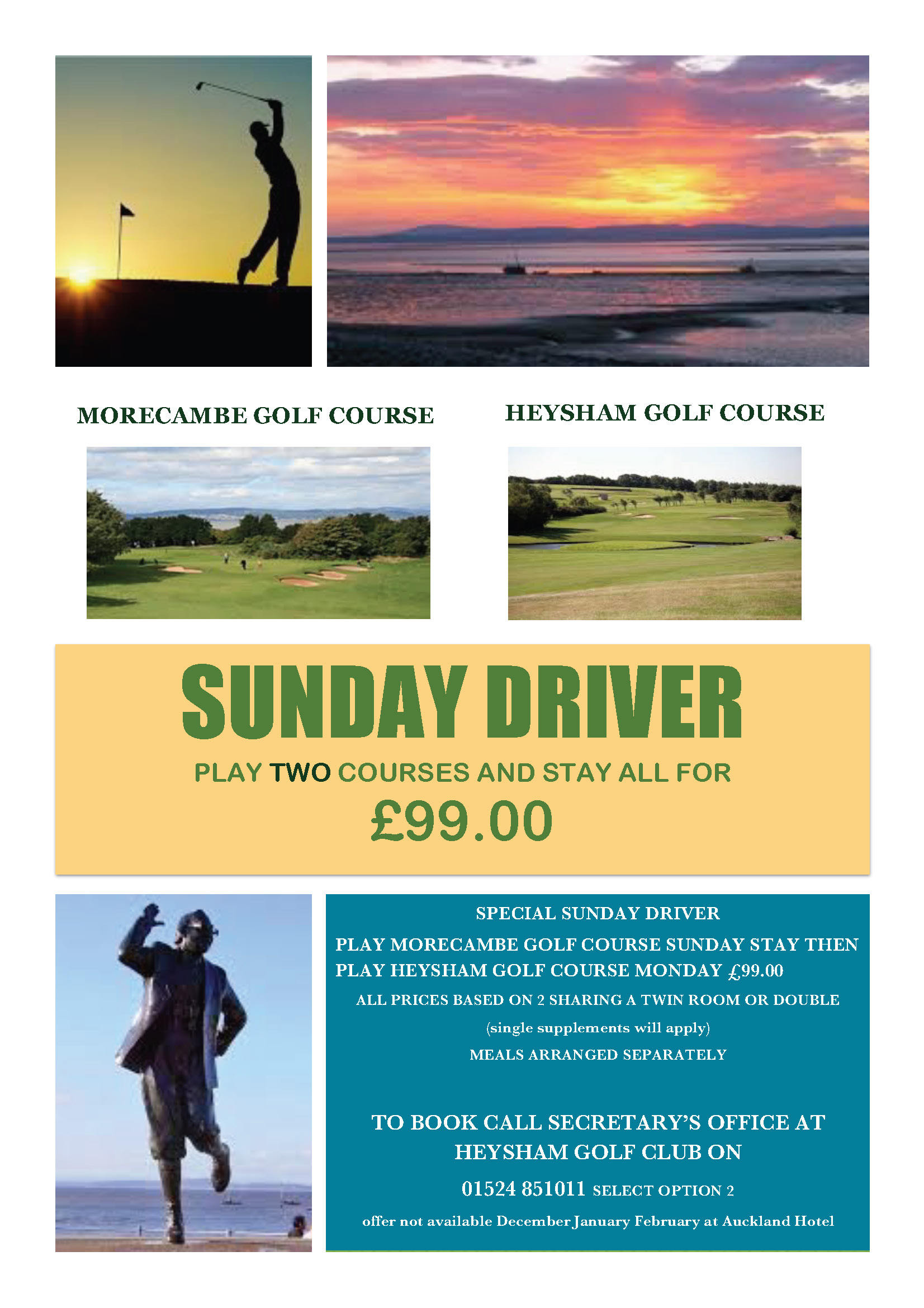 Sunday Driver Offer